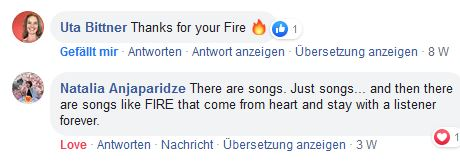 Comments on Fire